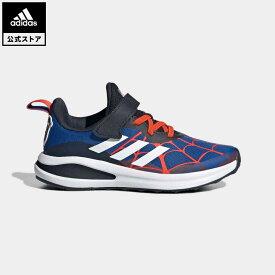 【公式】アディダス adidas 返品可 ジム・トレーニング マーベル スパイダーマン フォルタラン / Marvel Spider-Man FortaRun キッズ シューズ・靴 スポーツシューズ 青 ブルー G54922 mss21fw トレーニングシューズ