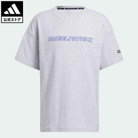 【公式】アディダス adidas 返品可 バスケットボール ダニエル・パトリック × アディダス バスケットボール 半袖サーマルTシャツ メンズ ウェア・服 トップス Tシャツ グレー GU2291 mss21fw 半袖