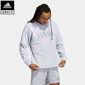 【公式】アディダス adidas 返品可 バスケットボール ダニエル・パトリック × アディダス バスケットボール 長袖サーマルTシャツ メンズ ウェア・服 トップス Tシャツ グレー GU2295 mss21fw ロンt