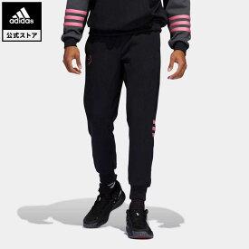【公式】アディダス adidas 返品可 バスケットボール デイム D.O.L.L.A. EXTPLY パンツ メンズ ウェア・服 ボトムス パンツ 黒 ブラック H50000 mss21fw