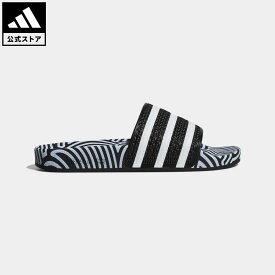 【公式】アディダス adidas 返品可 アディレッタ / ADILETTE オリジナルス レディース メンズ シューズ サンダル 黒 ブラック FY1592 fathersday