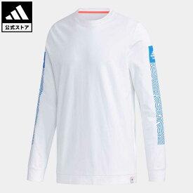 【公式】アディダス adidas 返品可 M HTC ロングスリーブ ティー アスレティクス メンズ ウェア・服 トップス Tシャツ 白 ホワイト GD4977 mss21fw ロンt