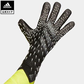 【公式】アディダス adidas 返品可 サッカー プレデター プロ ゴールキーパーグローブ / Predator Pro Goalkeeper Gloves メンズ アクセサリー 手袋/グローブ キーパーグローブ 黒 ブラック GK6183