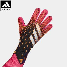 【公式】アディダス adidas 返品可 サッカー プレデター プロ ゴールキーパーグローブ / Predator Pro Goalkeeper Gloves レディース メンズ アクセサリー 手袋/グローブ キーパーグローブ 黒 ブラック GL4263