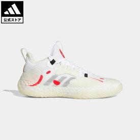 【公式】アディダス adidas 返品可 バスケットボール Harden Vol. 5 フューチャーナチュラル 東京 / The Harden Vol.5 Futurenatural Tokyo メンズ シューズ・靴 スポーツシューズ 白 ホワイト GW5388 mss21fw バッシュ