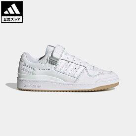 【公式】アディダス adidas 返品可 フォーラム ロー / FORUM LOW オリジナルス レディース メンズ シューズ・靴 スニーカー 白 ホワイト GX1072 ローカット
