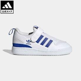 【公式】アディダス adidas 返品可 フォーラム 360 / Forum 360 オリジナルス キッズ シューズ・靴 スニーカー スリッポン 白 ホワイト GZ8354 ローカット