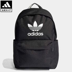 【公式】アディダス adidas 返品可 アディカラー バックパック オリジナルス レディース メンズ アクセサリー バッグ・カバン バックパック/リュックサック 黒 ブラック H35596 リュック