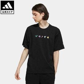 【公式】アディダス adidas 返品可 マンガ 半袖Tシャツ(ジェンダーニュートラル) オリジナルス レディース メンズ ウェア・服 トップス Tシャツ 黒 ブラック HC6925 半袖