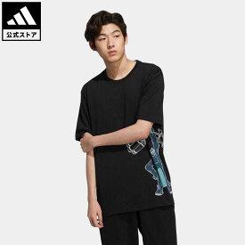 【公式】アディダス adidas 返品可 マンガ 半袖Tシャツ オリジナルス メンズ ウェア・服 トップス Tシャツ 黒 ブラック HD9083 半袖