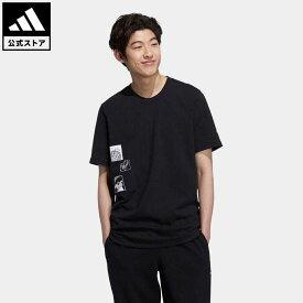 【公式】アディダス adidas 返品可 マンガ 半袖Tシャツ オリジナルス メンズ ウェア・服 トップス Tシャツ 黒 ブラック HD9087 半袖
