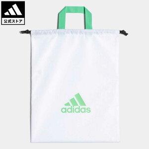 【公式】アディダス adidas 返品可 ゴルフ シューズサック 【ゴルフ】/ Shoe Sack メンズ アクセサリー バッグ・カバン ジムサック 白 ホワイト GT5891 notp ナップサック