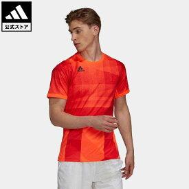 【公式】アディダス adidas 返品可 テニス フリーリフト 東京 HEAT.RDY テニス 半袖Tシャツ メンズ ウェア・服 トップス Tシャツ 赤 レッド H18184 mss21fw 半袖