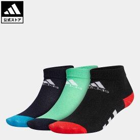 【公式】アディダス adidas 返品可 ジム・トレーニング アンクル ソックス 3足組 / Ankle Socks 3 Pairs レディース メンズ アクセサリー ソックス・靴下 クルーソックス 黒 ブラック GV6534