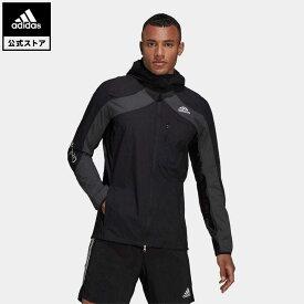 【公式】アディダス adidas 返品可 ランニング アディゼロ マラソン ジャケット メンズ ウェア・服 アウター ジャケット 黒 ブラック H32178 mss21fw nm_otd walking_jogging ランニングウェア
