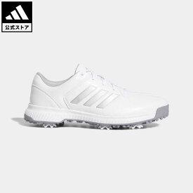 【公式】アディダス adidas 返品可 ゴルフ CPトラクション メンズ シューズ・靴 スポーツシューズ 白 ホワイト BB7903