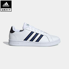 【公式】アディダス adidas 返品可 テニス グランドコート / Grand Court メンズ シューズ・靴 スニーカー 黒 ブラック FV8131 テニスシューズ ローカット
