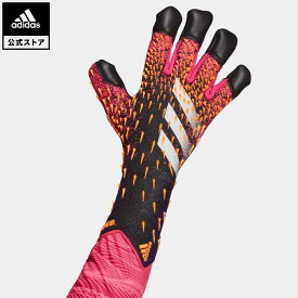 【公式】アディダス adidas 返品可 サッカー プレデター プロ ハイブリッド ゴールキーパーグローブ / Predator Pro Hybrid Goalkeeper Gloves レディース メンズ アクセサリー 手袋/グローブ キーパーグローブ 黒 ブラック GK7477