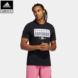 【公式】アディダス adidas 返品可 バスケットボール デイム EXTPLY オポーネント アドバイザリー 半袖Tシャツ メンズ ウェア・服 トップス Tシャツ 黒 ブラック GR9926 半袖