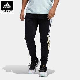 【公式】アディダス adidas 返品可 バスケットボール ドノバン・ミッチェル パンツ メンズ ウェア・服 ボトムス パンツ 黒 ブラック HB6766 mss21fw