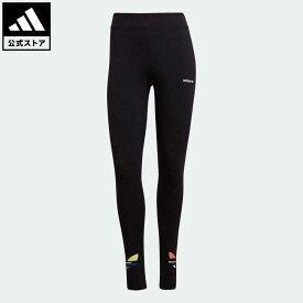 【公式】アディダス adidas 返品可 アディカラー シャッタード トレフォイルタイツ オリジナルス レディース ウェア・服 ボトムス タイツ・レギンス 黒 ブラック H22850 レギンス