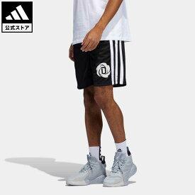 【公式】アディダス adidas 返品可 バスケットボール ローズ 軽量ショーツ メンズ ウェア・服 ボトムス ハーフパンツ 黒 ブラック GV4650