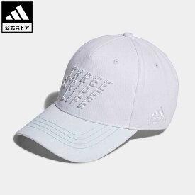 【公式】アディダス adidas 返品可 ゴルフ UVカット スリーストライプライフ コットンキャップ メンズ アクセサリー 帽子 キャップ 白 ホワイト GU8644