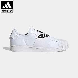 【公式】アディダス adidas 返品可 SS スリッポン / SS Slip-On オリジナルス レディース メンズ シューズ・靴 スニーカー スリッポン 白 ホワイト GX1229 ローカット