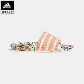 【公式】アディダス adidas 返品可 アディレッタ サンダル / Adilette Slides オリジナルス レディース メンズ シューズ・靴 サンダル ピンク GY8288