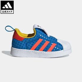 【公式】アディダス adidas 返品可 adidas SS360 × LEGO オリジナルス キッズ シューズ・靴 スニーカー スリッポン 青 ブルー H02731 ローカット