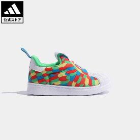 【公式】アディダス adidas 返品可 SS 360 オリジナルス キッズ シューズ・靴 スニーカー スリッポン 緑 グリーン Q46177 ローカット
