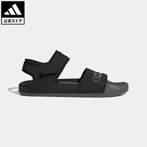 【公式】アディダス adidas 返品可 水泳 ADILETTE SANDAL レディース メンズ シューズ・靴 サンダル 黒 ブラック FY8649