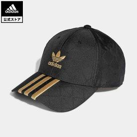 【公式】アディダス adidas 返品可 ベースボールキャップ オリジナルス レディース メンズ アクセサリー 帽子 キャップ 黒 ブラック H09043