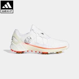 【公式】アディダス adidas 返品可 ゴルフ ウィメンズ ゼッドジー21 ボア レディース シューズ・靴 スポーツシューズ 白 ホワイト G57764