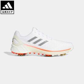 【公式】アディダス adidas 返品可 ゴルフ ゼッドジー21 メンズ シューズ・靴 スポーツシューズ 白 ホワイト H69228