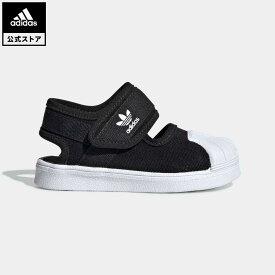 【公式】アディダス adidas 返品可 SS 360 サンダル / SST 360 SANDAL I オリジナルス キッズ シューズ・靴 サンダル 黒 ブラック EG5711 ベビー