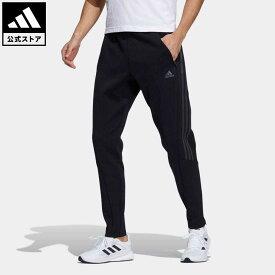 【公式】アディダス adidas 返品可 トラックスーツ ウインドパンツ アスレティクス メンズ ウェア・服 ボトムス ジャージ パンツ 黒 ブラック H40870 下