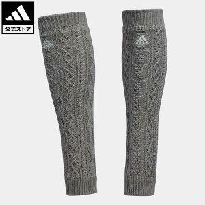 【公式】アディダス adidas 返品可 ゴルフ ケーブル スリーストライプ レッグウォーマー レディース アクセサリー その他アクセサリー グレー GU6143
