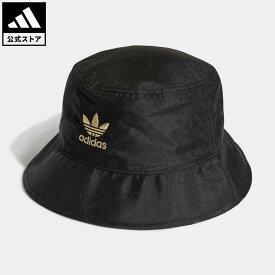 【公式】アディダス adidas 返品可 バケットハット オリジナルス レディース メンズ アクセサリー 帽子 バケツ帽 黒 ブラック H09036