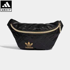 【公式】アディダス adidas 返品可 ウエストバッグ オリジナルス レディース アクセサリー バッグ・カバン ウエストバッグ(ウエストポーチ) 黒 ブラック H09037 ウエストポーチ ボディバッグ