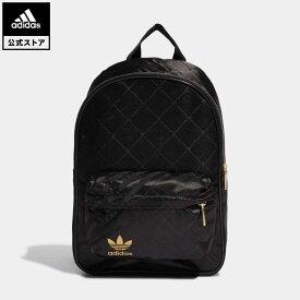 【公式】アディダス adidas 返品可 バックパック オリジナルス レディース アクセサリー バッグ・カバン バックパック/リュックサック 黒 ブラック H09039 リュック