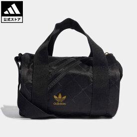 【公式】アディダス adidas 返品可 ミニ ダッフルバッグ オリジナルス レディース アクセサリー バッグ・カバン ウエストバッグ(ウエストポーチ) 黒 ブラック H09041 ウエストポーチ ボディバッグ