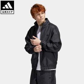 【公式】アディダス adidas 返品可 スケートボーディング ファイヤーバード トラックジャケット(ジェンダーニュートラル) オリジナルス レディース メンズ ウェア・服 アウター ジャケット ジャージ 黒 ブラック GR8749