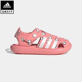 【公式】アディダス adidas 返品可 水泳 ウォーターサンダル / Water Sandals キッズ シューズ・靴 サンダル 赤 レッド FY8959
