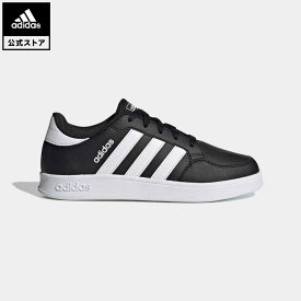 【公式】アディダス adidas 返品可 テニス Breaknet キッズ シューズ・靴 スニーカー 黒 ブラック FY9507 テニスシューズ ローカット