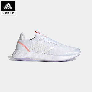 【公式】アディダス adidas 返品可 ランニング QT レーサー スポーツ / QT Racer Sport レディース シューズ・靴 スポーツシューズ 白 ホワイト GW4842 ランニングシューズ