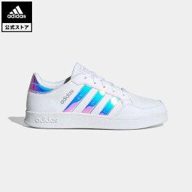 【公式】アディダス adidas 返品可 テニス ブレイクネット / Breaknet キッズ シューズ・靴 スニーカー 白 ホワイト GZ2736 テニスシューズ ローカット