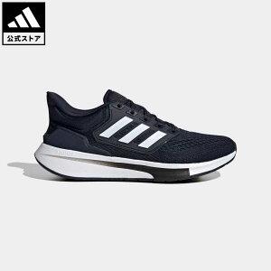 【公式】アディダス adidas 返品可 ランニング EQ21 ラン / EQ21 Run メンズ シューズ・靴 スポーツシューズ 青 ブルー H00517 ランニングシューズ