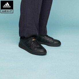 【公式】アディダス adidas 返品可 チーム コート / Team Court オリジナルス メンズ シューズ・靴 スニーカー 黒 ブラック EF6050 ローカット