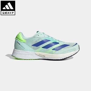 【公式】アディダス adidas 返品可 ランニング アディゼロ ジャパン 6 / Adizero Japan 6 レディース シューズ・靴 スポーツシューズ 緑 グリーン FZ2493 ランニングシューズ
